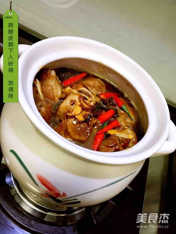 黄豆笋干炖蹄膀的简单做法