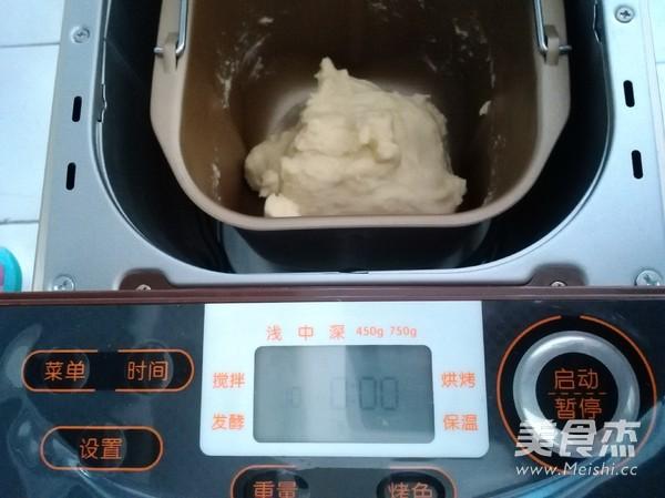 奶油面包的简单做法
