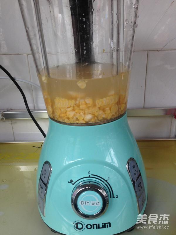 香甜玉米汁的家常做法
