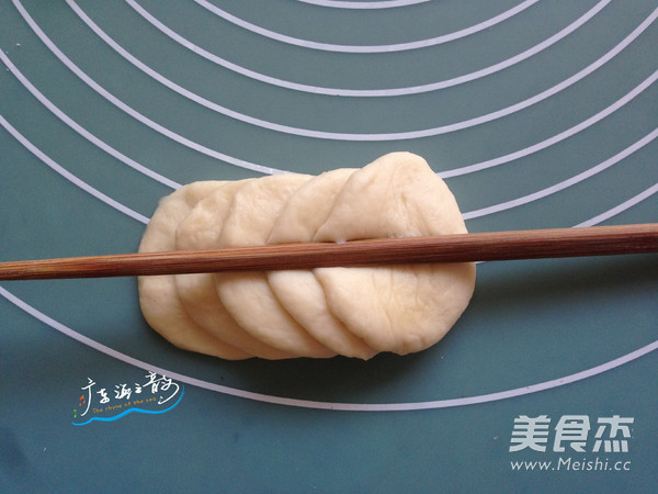 花辫豆沙面包怎样做