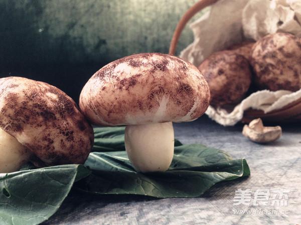仿真蘑菇包成品图