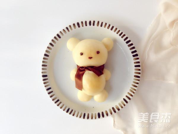 可爱小熊面包怎样炒