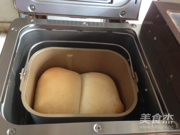面包机版白吐司怎样做
