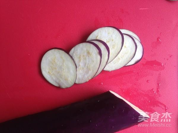 烤肉茄子三明治的家常做法