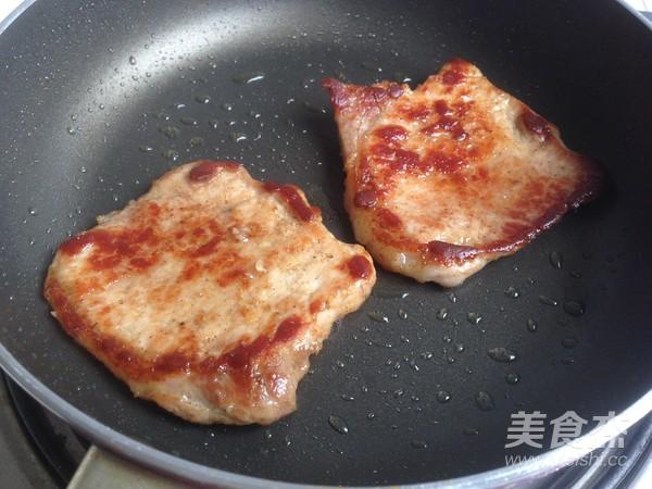烤肉茄子三明治怎么做