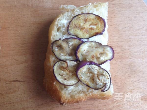 烤肉茄子三明治怎么煮