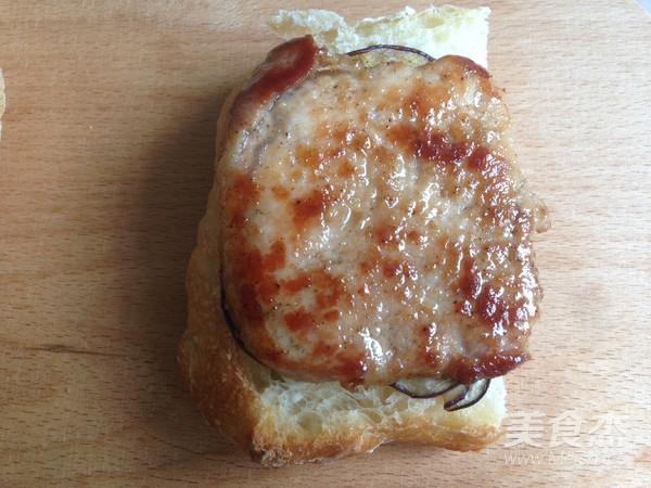 烤肉茄子三明治怎么炖