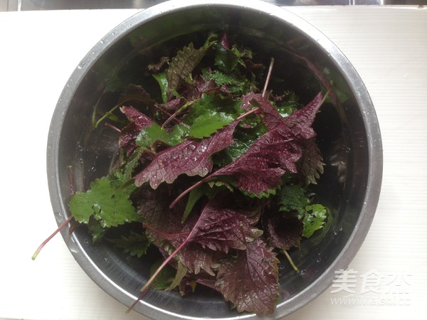 紫苏炒花甲的做法大全