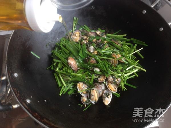 紫苏炒花甲怎样炒