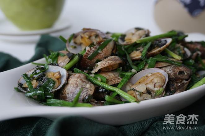 紫苏炒花甲怎样煮