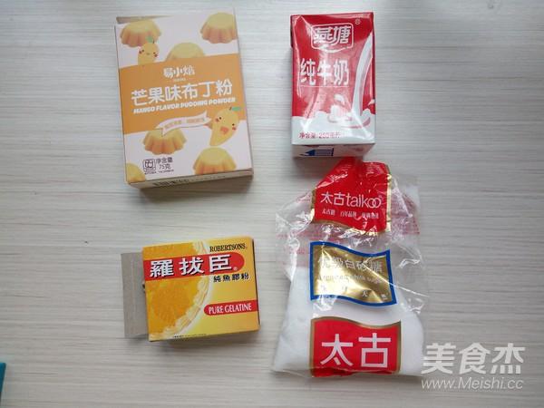 芒果布丁棉花糖的做法大全