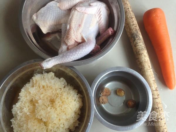 牛蒡雪耳煲鸡汤的做法大全