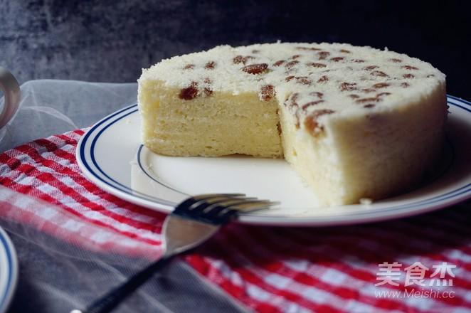 葡萄干蒸蛋糕怎样煸