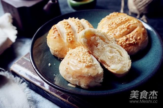 植物油版老婆饼的制作方法