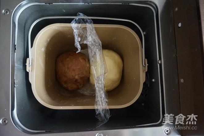 面包机版双味吐司怎么做