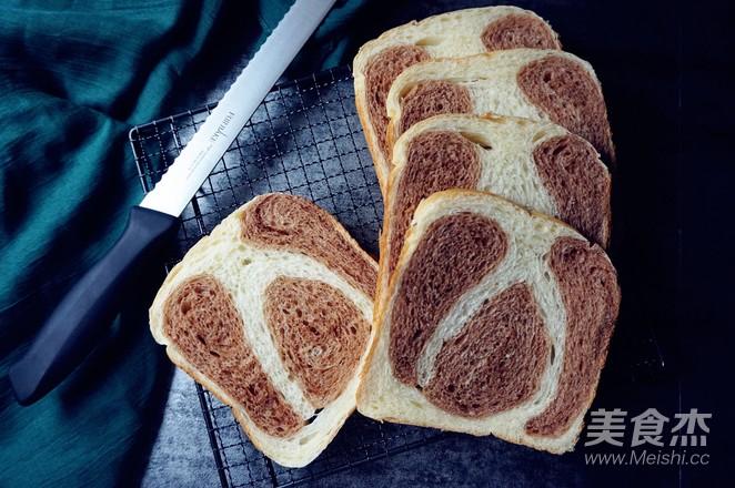 面包机版双味吐司的制作方法