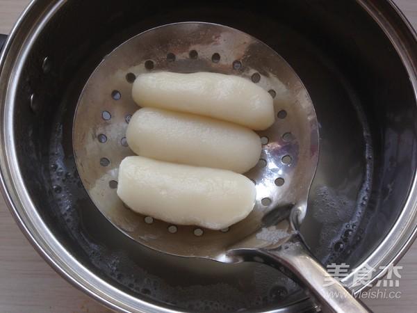 红糖糯米条的步骤