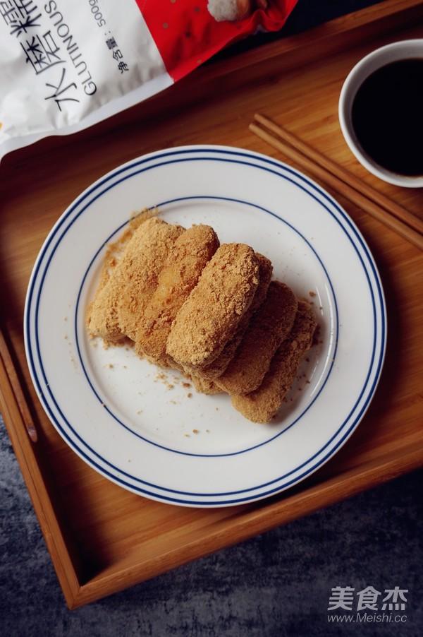 红糖糯米条成品图