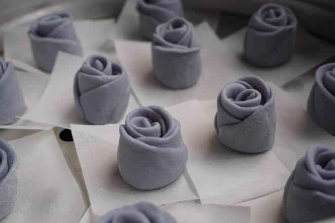 蓝玫瑰馒头怎样炒
