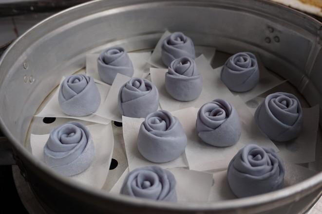 蓝玫瑰馒头怎样煮