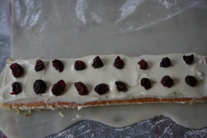 冰皮蔓越莓蛋糕的制作大全