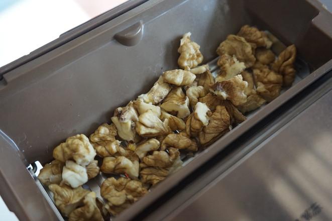 一键式香蕉核桃面包的简单做法