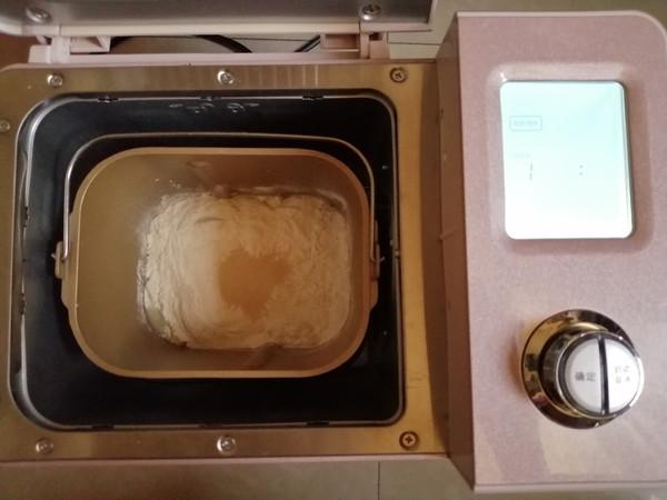 肉松咸蛋黄面包的做法大全