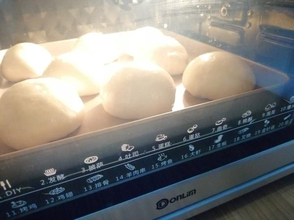肉松咸蛋黄面包怎么做