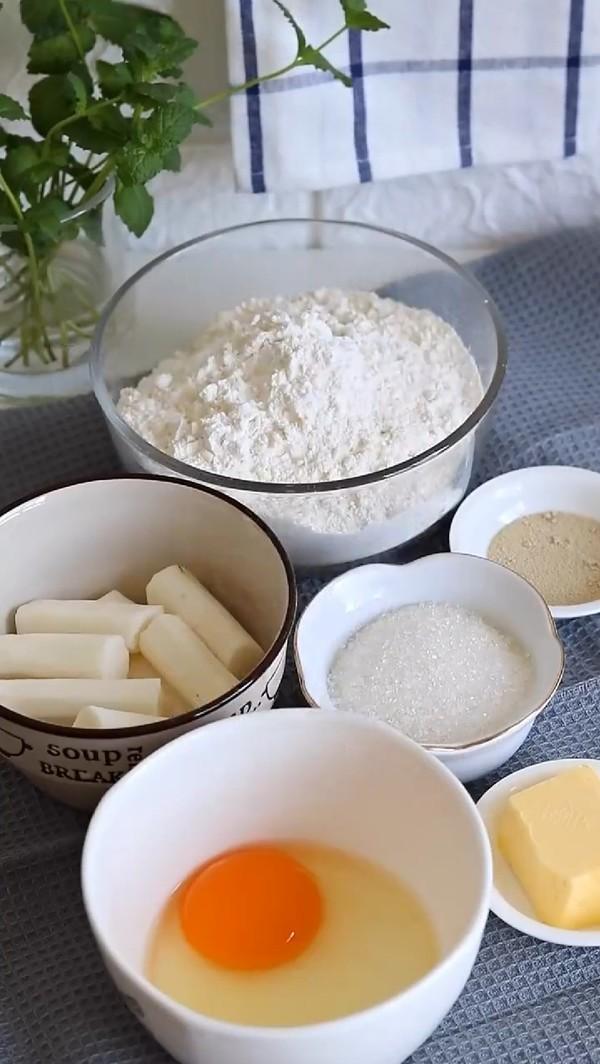 奶香山药小面包的做法大全