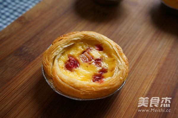 草莓蛋挞的制作方法