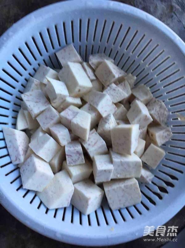 粤式芋头糕的家常做法