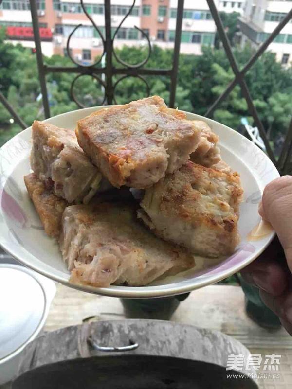 粤式芋头糕的制作