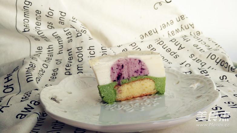 春日樱之恋——五重奏慕斯蛋糕成品图