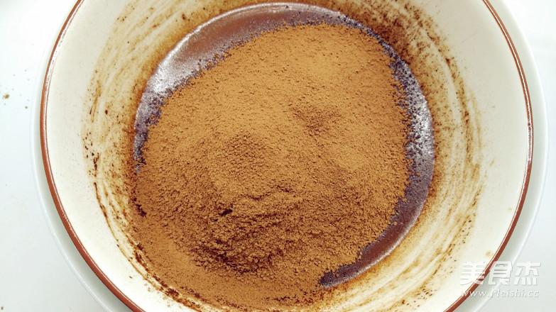 浓浓圣诞风之巧克力树桩蛋糕的做法图解