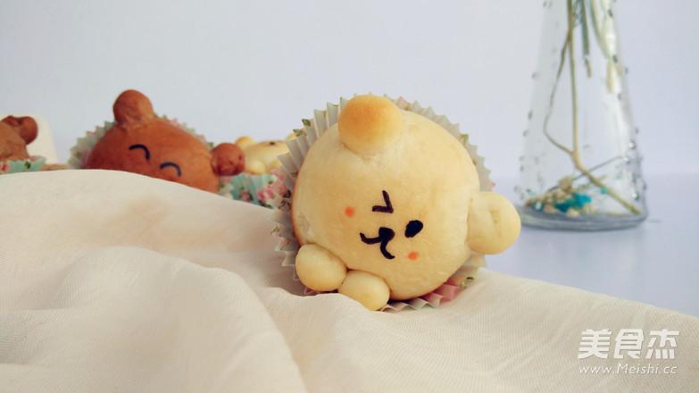 萌萌哒小熊面包怎样煮