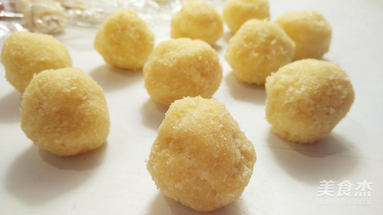 圆荷浮小叶——不用松弛的荷花酥的简单做法