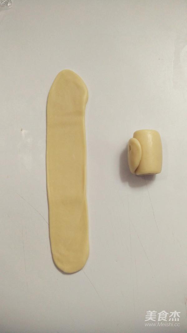 圆荷浮小叶——不用松弛的荷花酥怎样做