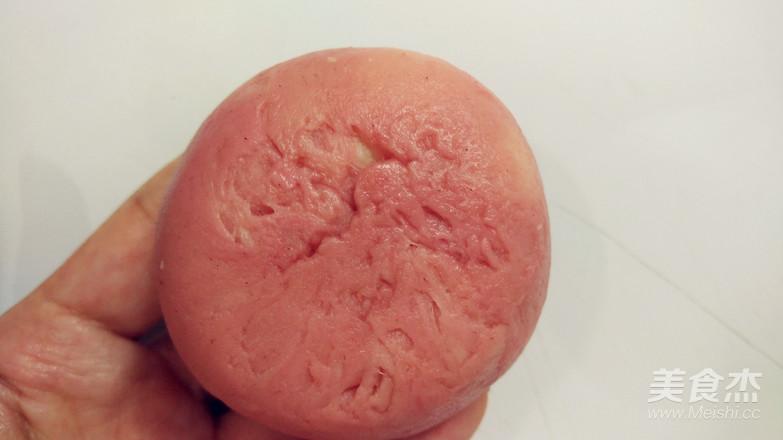 圆荷浮小叶——不用松弛的荷花酥的制作