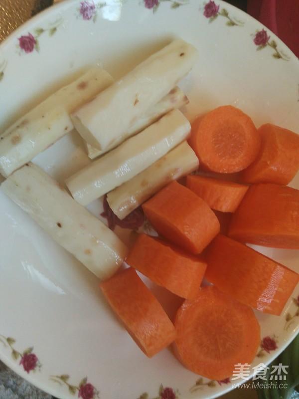 山药胡萝卜骨头汤的做法大全