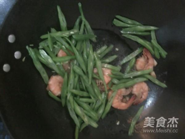 四季豆炒虾的简单做法