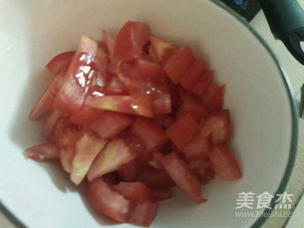 虾米鸡蛋炒番茄的做法图解