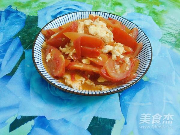 虾米鸡蛋炒番茄怎样煮
