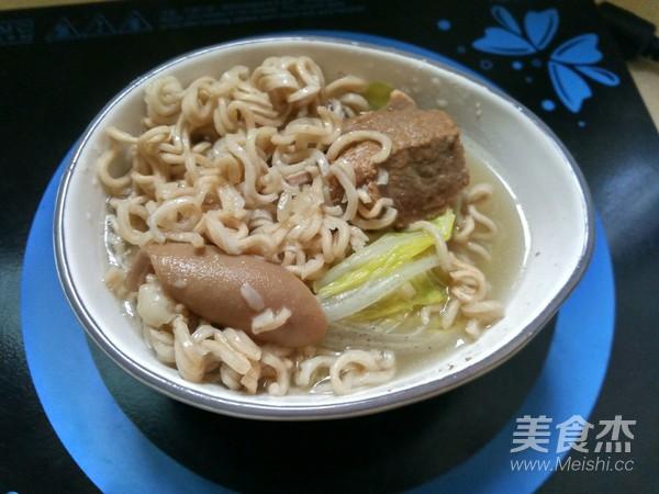 羊肉汤面的简单做法