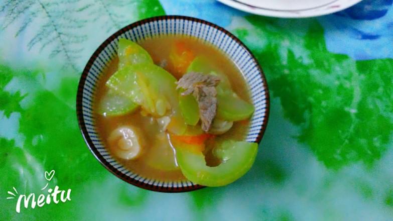 三鲜汤成品图