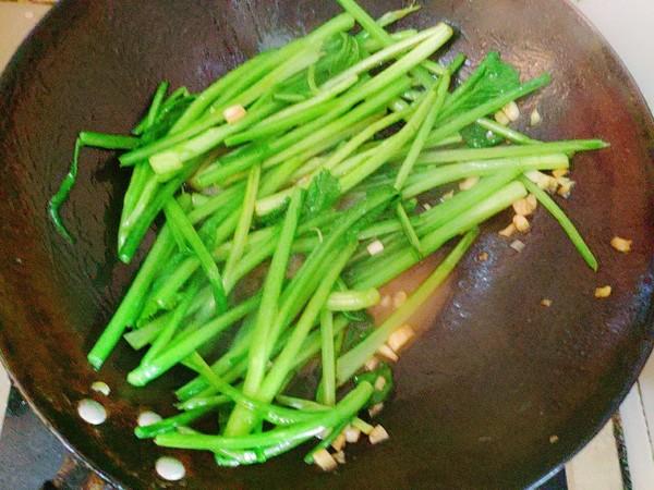 蒜香小芥菜的家常做法