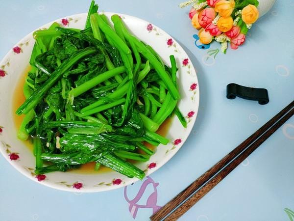 蒜香小芥菜怎么吃