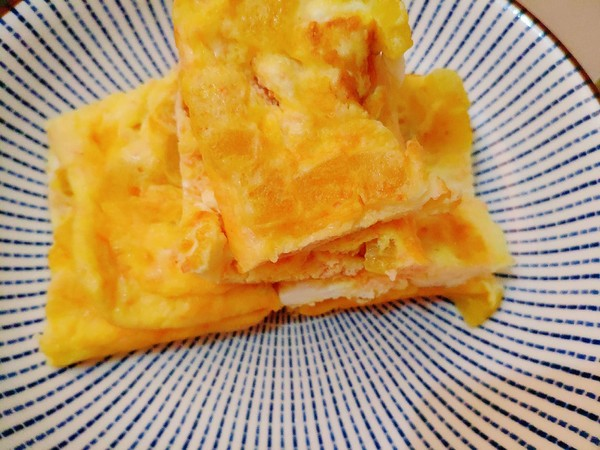快手菜之寿司萝卜煎鸡蛋怎么炒