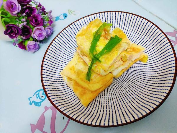 快手菜之寿司萝卜煎鸡蛋怎么煮