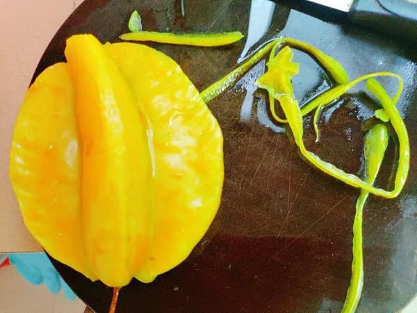 水果杨桃的做法图解