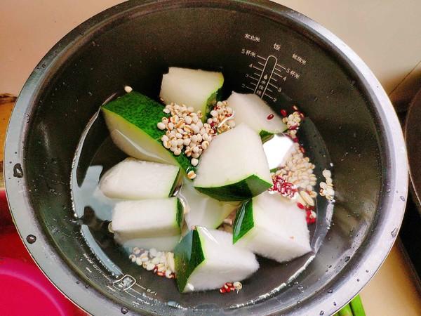 冬瓜薏米去湿汤的做法大全